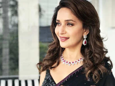 How to accessorise your saris like Madhuri