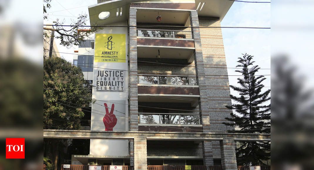 Amnesty International's statement far from truth, attempt to influence probe into its illegalities: MHA - Times of India