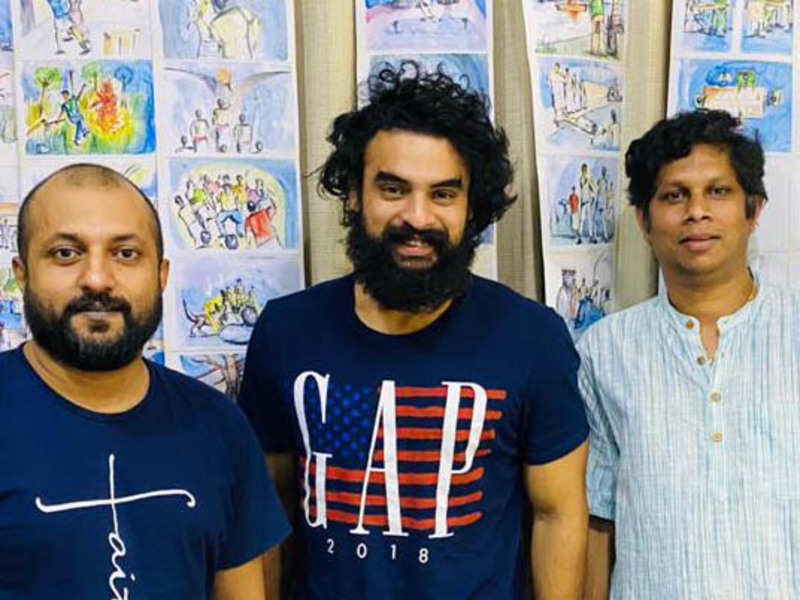 Lyricist Manu Manjith turns co writer for Tovino Thomas' Varav