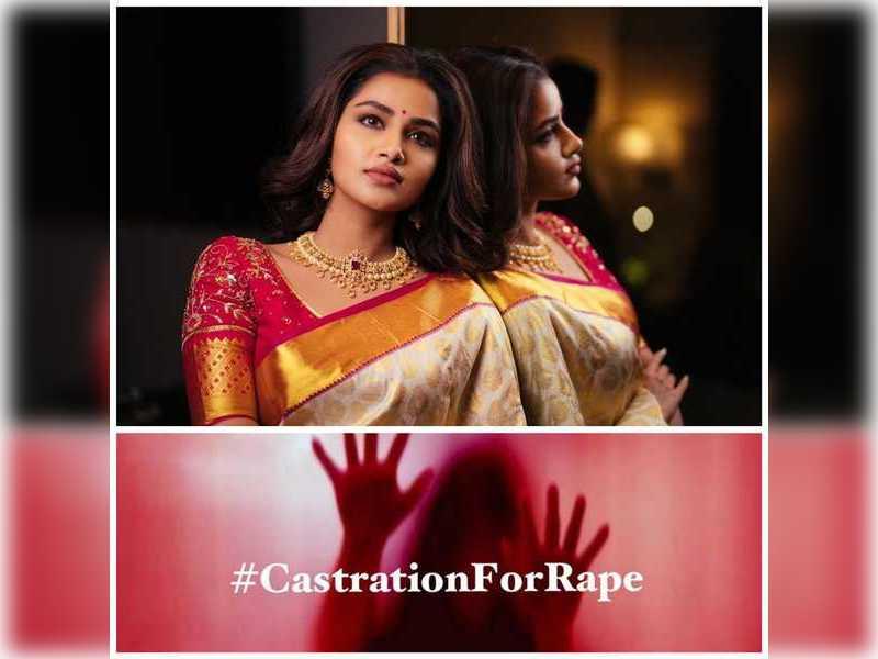 Anupama Parameswaran says #CastrationForRape, reacting to Hathras gang rape incident