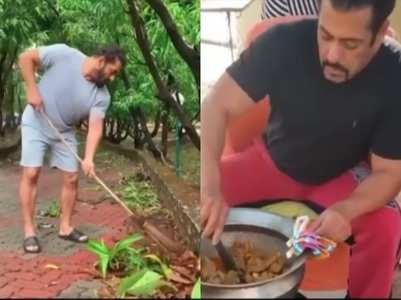 Salman shows what he did during lockdown