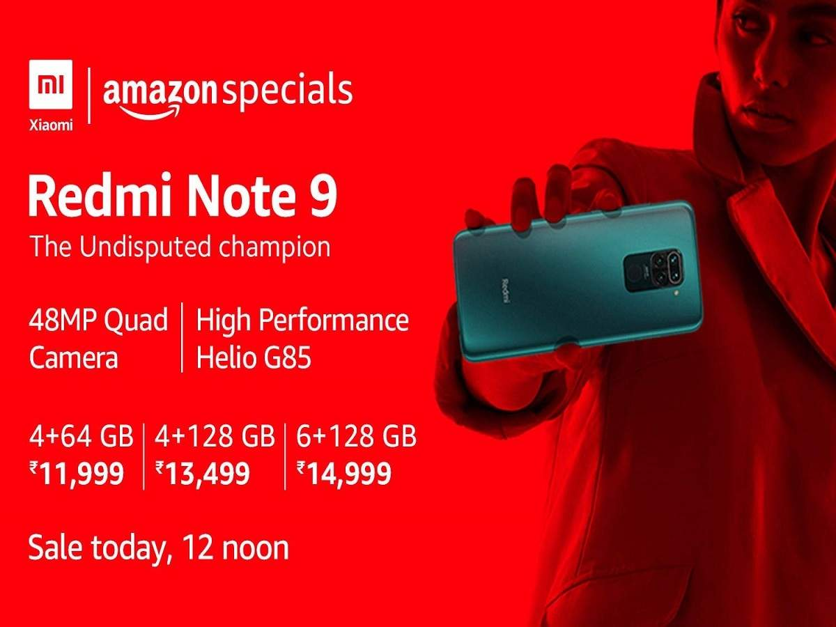 Redmi Note 9 Amazon Sale Redmi Note 9 To Go Live On Amazon Today Price Specifications Here Most Searched Products Times Of India