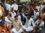Bhim Army chief holds protest over death of Hathras gangrape victim