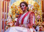 Actress-MP Nusrat Jahan gets death threats for posing as Durga; seeks security for London shoot