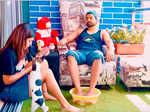 Gurmeet Choudhary and Debina Bonnerjee's pictures