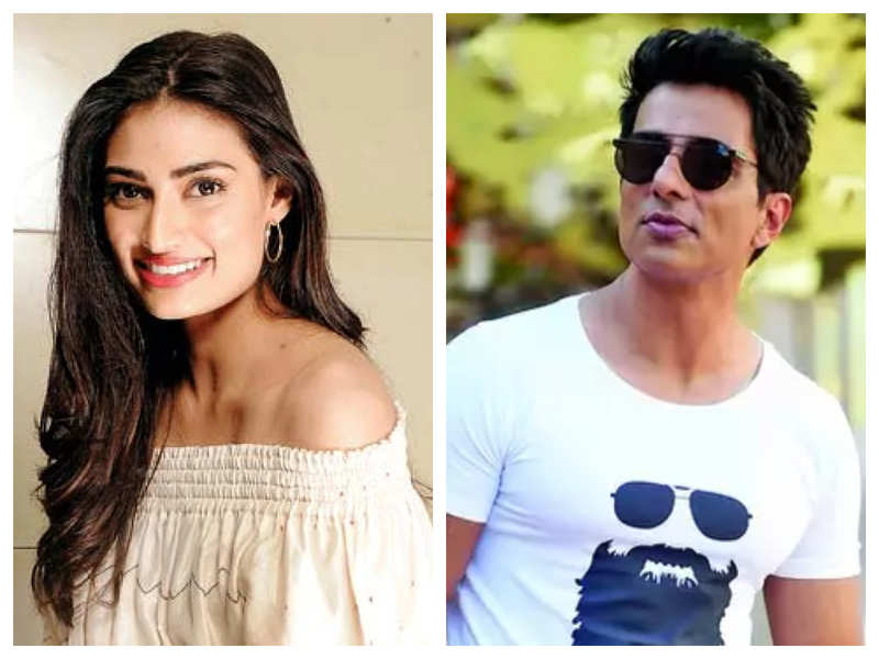Athiya Shetty congratulates Sonu Sood after UNDP confers him with Special Humanitarian Award: You inspire millions with your never-ending work