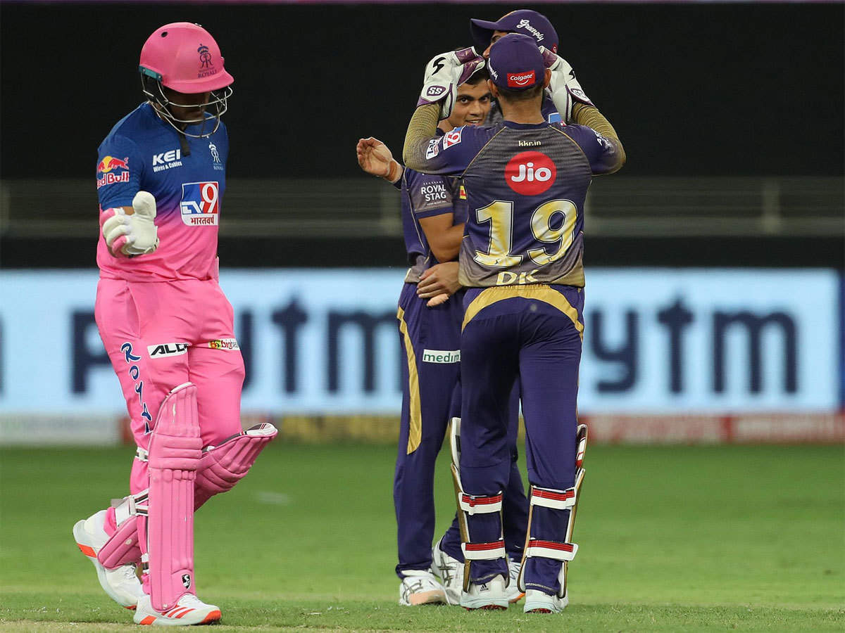 RR vs KKR Highlights: Pacers guide Kolkata Knight Riders to 37-run win against Rajasthan Royals | Cricket News - Times of India