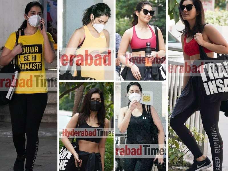 Drab to fab: Raashi Khanna's gym looks decoded
