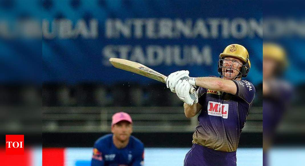 Ipl 2020 Ipl 2020 Morgan Coming To Bat At No 6 Became A Blessing In Disguise Says Karthik Cricket News Times Of India