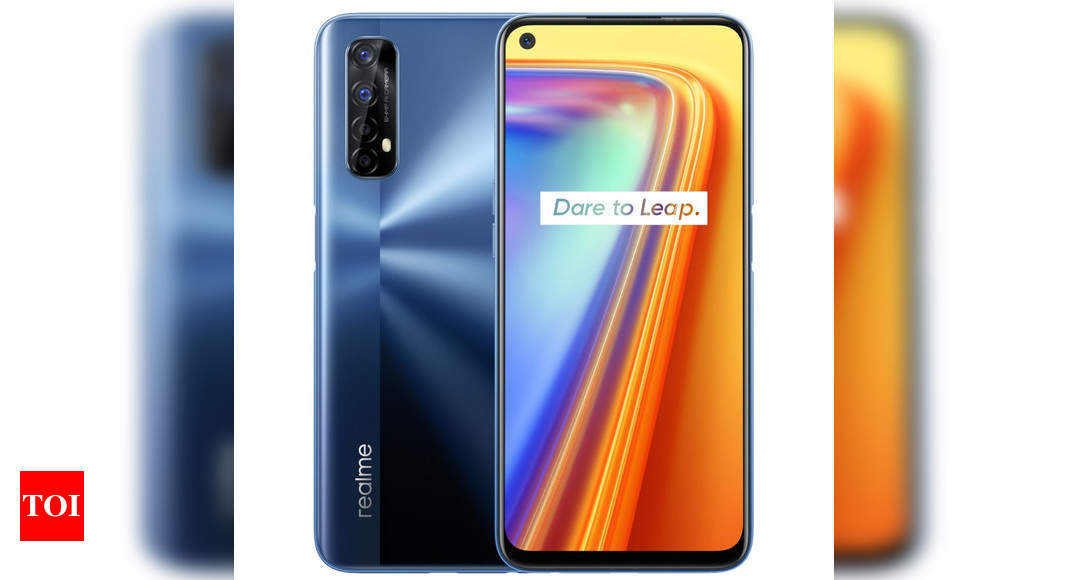 Realme 7 with 6.5-inch display and up to 8GB of RAM to go on sale today via Flipkart – Times of India