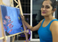 After acting, Bhagyashree Mote tries her hand at painting; see pics