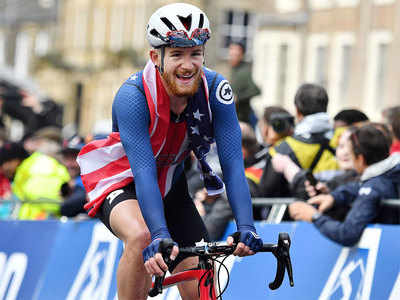 American cyclist Quinn Simmons suspended after Trump tiff