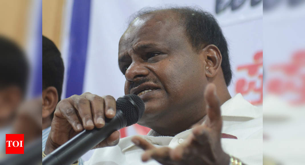 Congress is not worthy of an alliance: H D Kumaraswamy | India News – Times of India