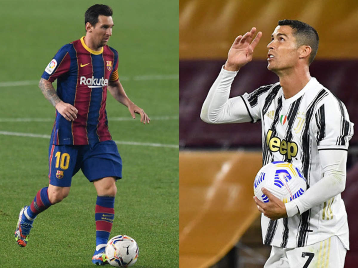 Messi Vs Ronaldo In Champions League Group Stage As Barca Draw Juve Football News Times Of India