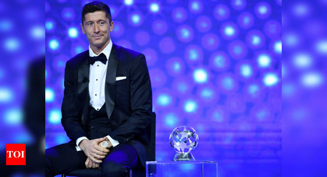 Lewandowski named UEFA men's player of the year | Football News – Times of India