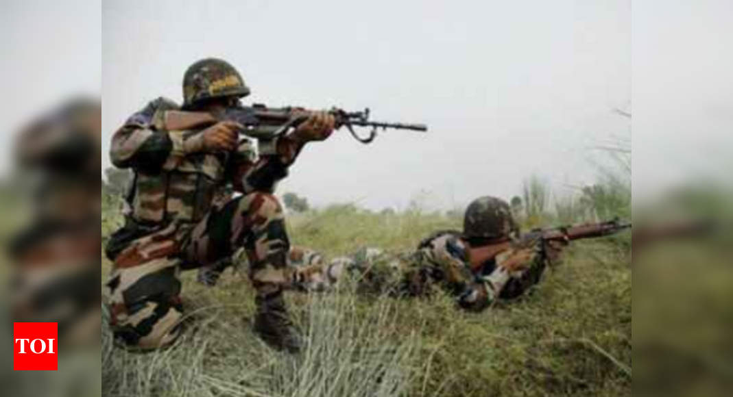 3 soldiers killed in Pakistan firing along LoC | India News – Times of India