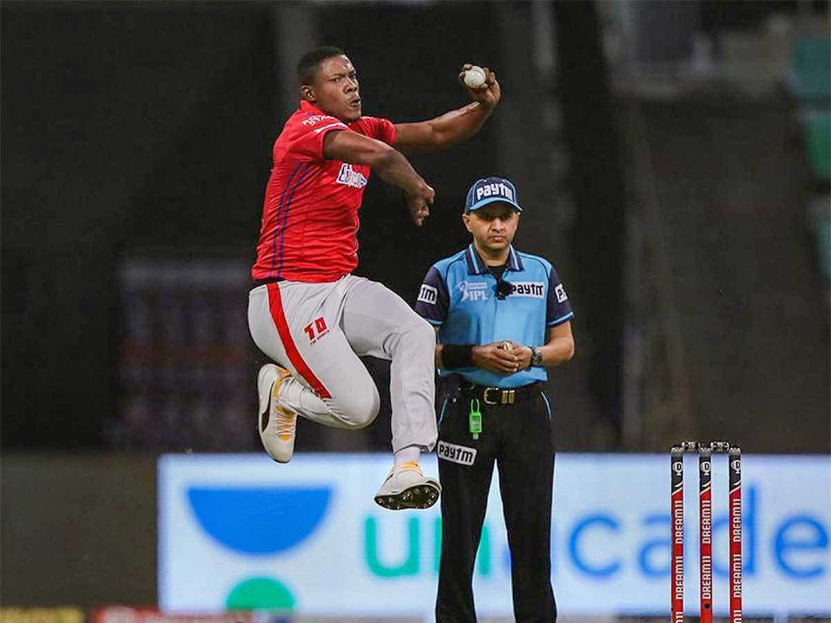 ipl 2020: IPL 2020: KXIP will bounce back, says Sheldon Cottrell after defeat against MI | Cricket News - Times of India