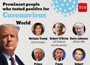 Celebs and politicians who tested positive for coronavirus