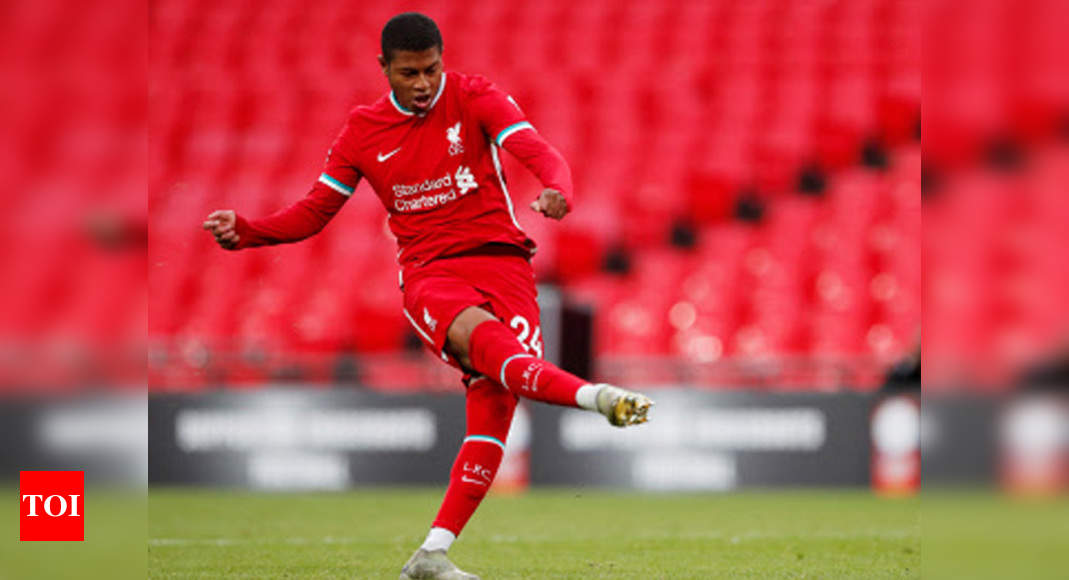 Sheffield United sign Liverpool's Rhian Brewster for club-record fee | Football News – Times of India