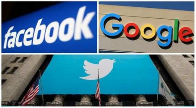 Facebook, Twitter, Google CEOs will testify before US Senate committee
