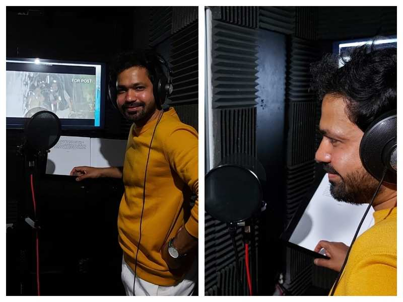 'Goshta Eka Paithanichi': Suvrat Joshi completes his dubbing in London amid unlock phase