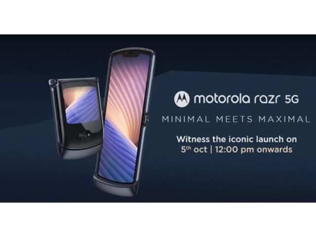 Motorola Razr 5G to launch in India today: How to watch the live stream