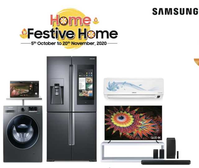 Samsung 'Home, Festive Home' sale: Offers discounts on TVs, refrigerators, ACs and more