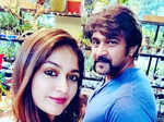 Meghana Raj shares pictures from her baby shower; reveals it was late husband Chiranjeevi Sarja's wish