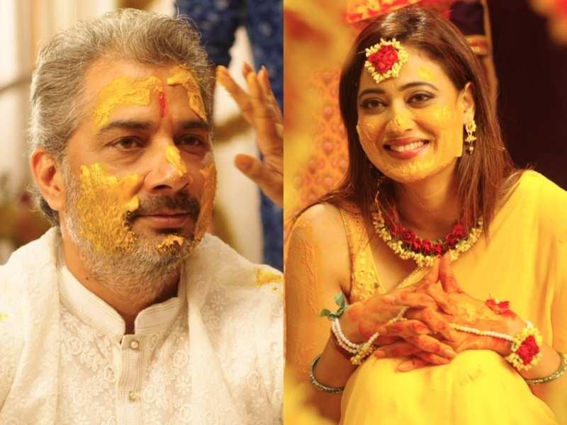 Shweta Tiwari and Varun Badola's wedding festivities begin on Mere Dad Ki Dulhan; reel daughter Anjali Tartari talks about 'Haldi ki Rasam'