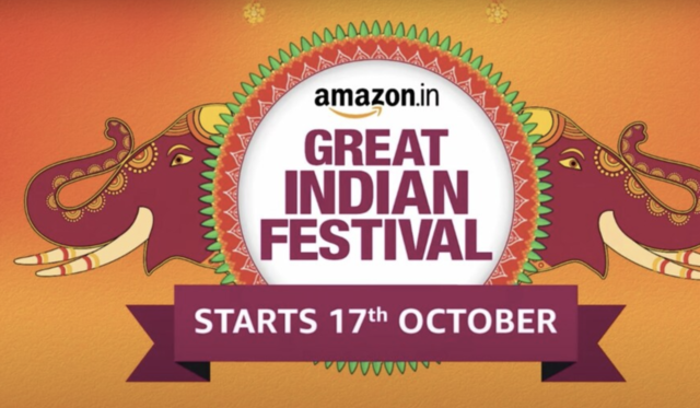 Amazon Great Indian Festival 2020 sale starts October 17