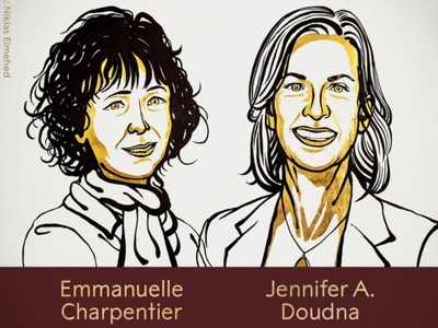 Women creators of gene 'scissors' clinch chemistry Nobel
