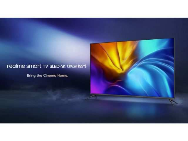 Realme 4K SLED smart TV with 24watt quad speakers launched
