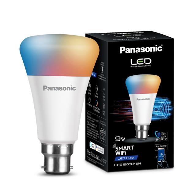 Panasonic launches Wi-Fi enabled smart LED bulb