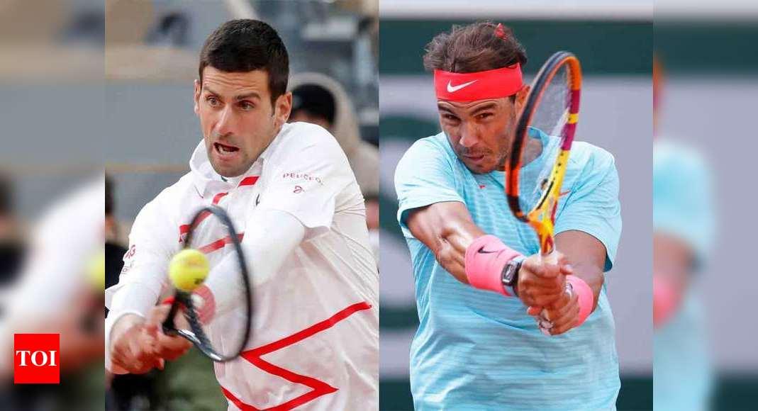 Djokovic, Nadal face new-look Roland Garros road blocks | Tennis News – Times of India