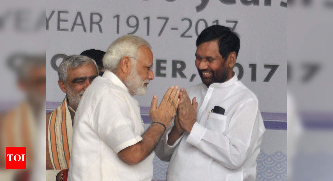 Void in our nation that will perhaps never be filled: PM Modi on Ram Vilas Paswan's demise | India News – Times of India