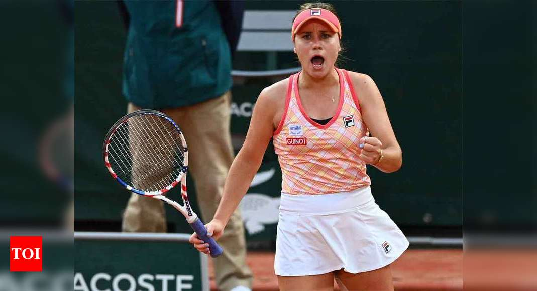Kenin downs Kvitova to set up French Open final with teen Swiatek | Tennis News – Times of India