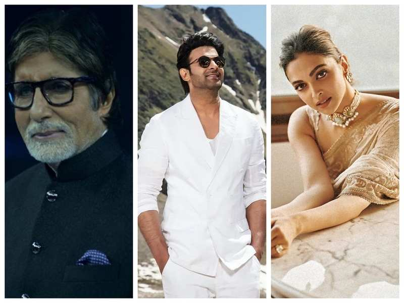 Amitabh Bachchan joins Prabhas and Deepika in Nag Ashwin's film; says 'an  honour and a privilege to be a part of this' | Hindi Movie News - Times of  India