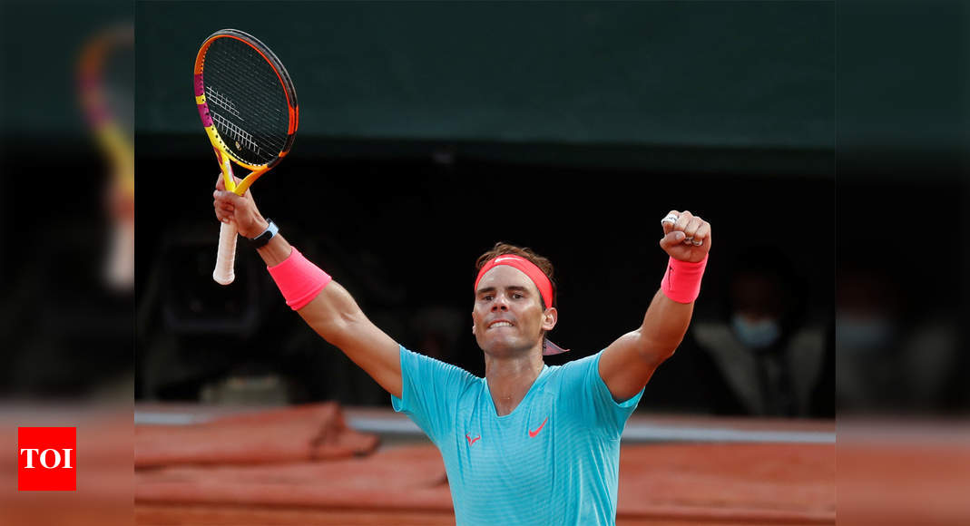 Nadal downs Schwartzman to reach 13th French Open final | Tennis News – Times of India