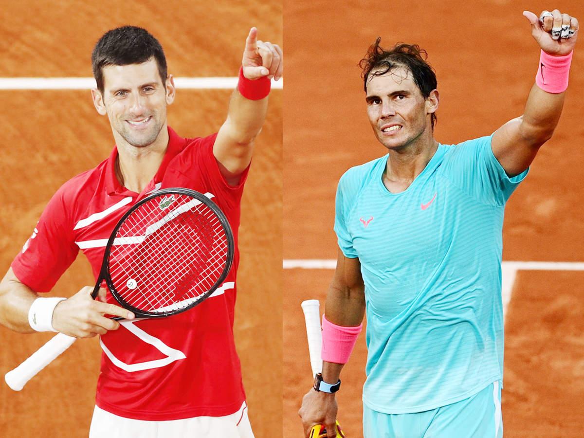 Novak Djokovic to face Rafael Nadal in French Open final blockbuster | Tennis News - Times of India