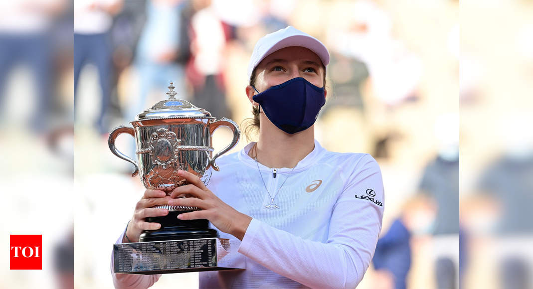 Iga Swiatek wins French Open, becomes first Pole to win Grand Slam singles title - Times of India