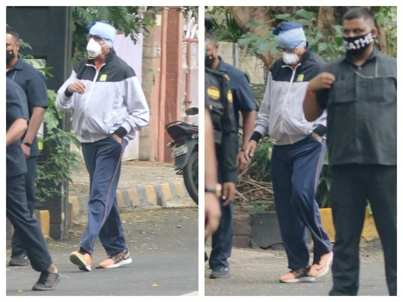 Amitabh Bachchan keeps it cool and casual as he gets spotted outside his office on his birthday - watch