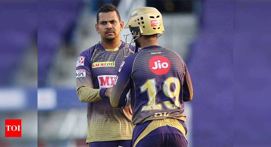 Narine was warned for suspect action in CPL too | Cricket News – Times of India