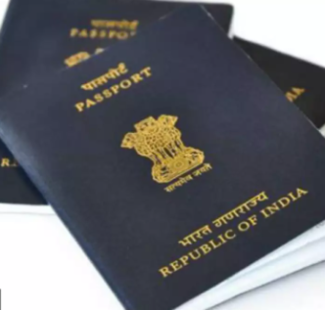 What is the fee for a passport in India?