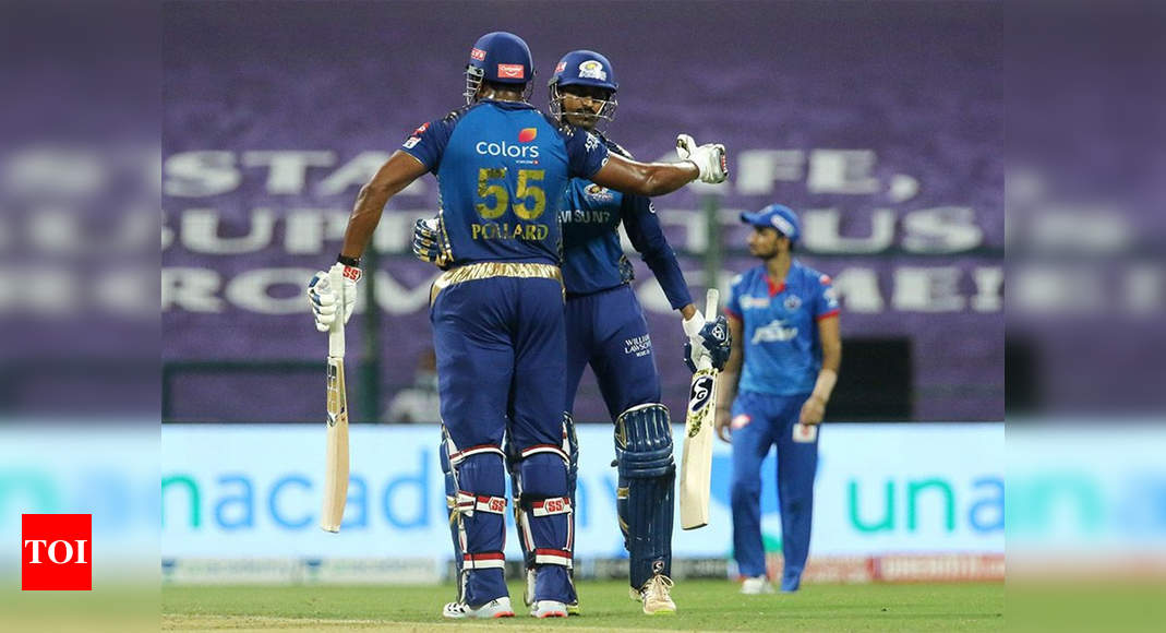 MI vs DC: De Kock, Suryakumar lead Mumbai Indians to top of the table with win over Delhi Capitals | Cricket News – Times of India