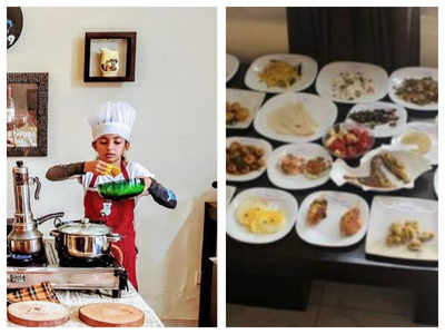 10-year-old Kerala girl cooks 33 dishes in less than 60 minutes