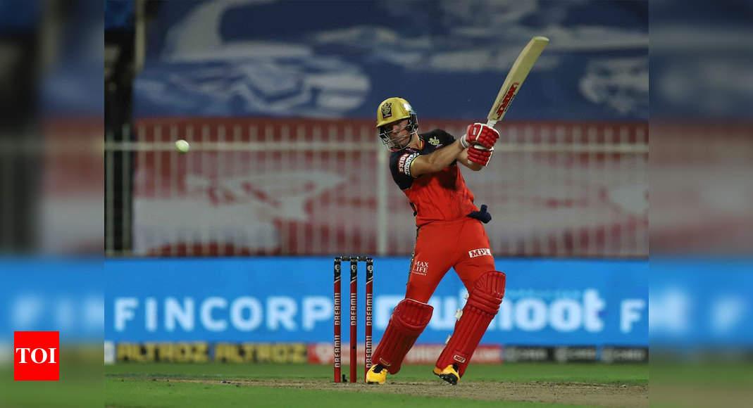 RCB vs KKR: Explosive De Villiers helps Royal Challengers Bangalore thrash Kolkata Knight Riders by 82 runs | Cricket News – Times of India