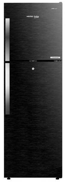 Voltas RFF293BF Beko 270 L 3 Star Inverter Frost-Free Double Door Refrigerator(Wooden Black)