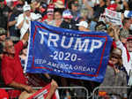 Donald Trump holds election rallies