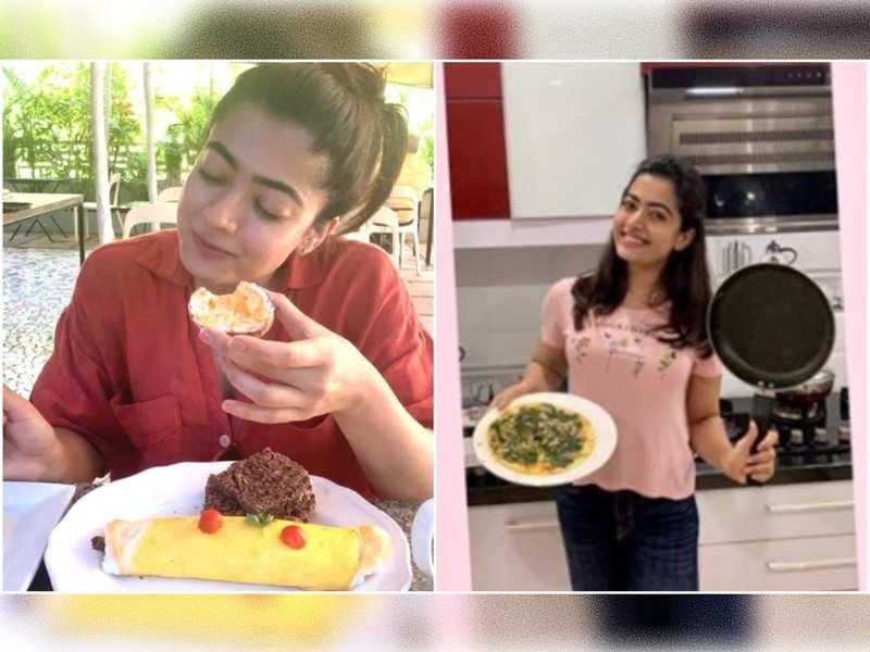 Cooking Video: Rashmika Mandanna shares her favourite omelette recipe
