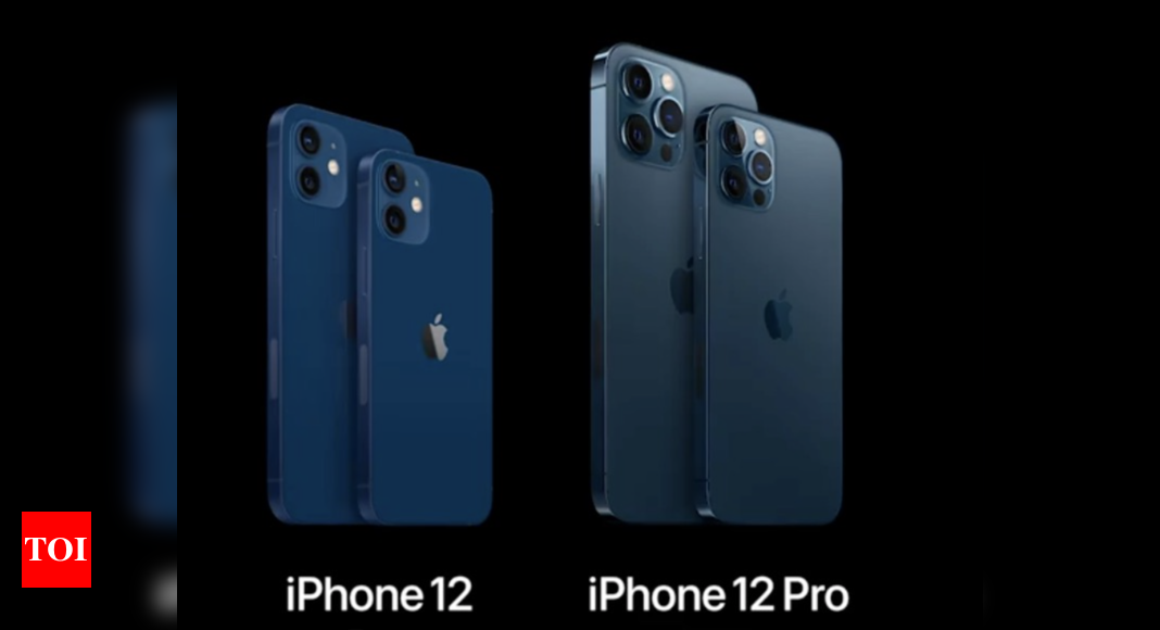 iphone 12 price:  Apple launches four new iPhone 12 models: Price, specs and more – Times of India